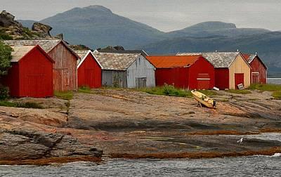 Photograph - Norwegian Coast No. 3 by Joe Bonita