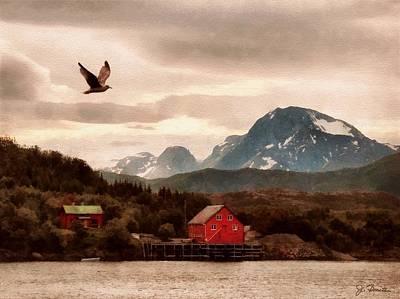 Photograph - Norwegian Coast No. 5 by Joe Bonita