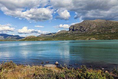 Photograph - Norwegian mountains by Mike Santis