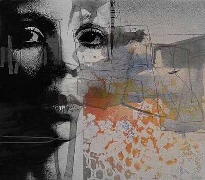 Woman Mixed Media - Norwegian Wood by Paul Lovering