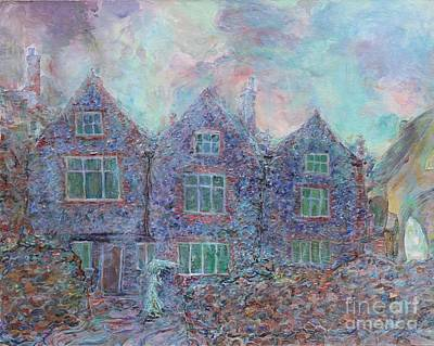 Painting - Norwich Cathedral Close by Anna Yurasovsky