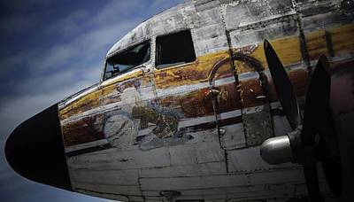 Photograph - Nose Art by Michael Nowotny