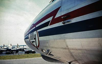 Photograph - Nose Art Tu-114 by John Schneider