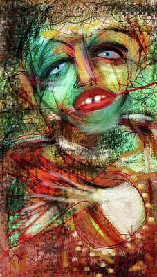 Digital Art - Nosferatu 3 by Doug Duffey
