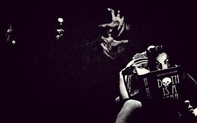Nosferatu Digital Art - Nosferatu And Vampira by Tiffaney Porter
