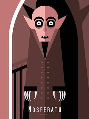 Nosferatu Digital Art - Nosferatu by Mark Gonyea