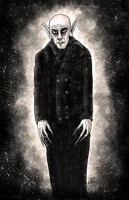 Nosferatu Digital Art - Nosferatu by Matt James