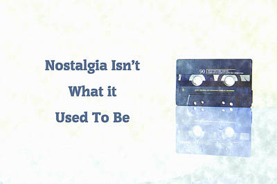 Digital Art - Nostalgia Isnt What It Used To Be by Anthony Murphy