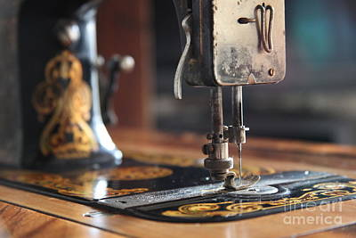 Photograph - Nostalgia ...vintage Neva Treadle Sewing Machine  by Lynn England
