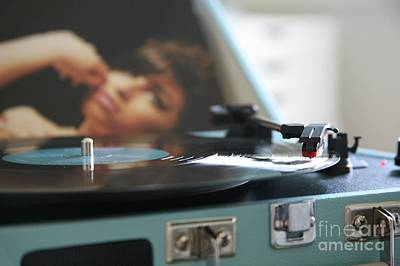 Photograph - Nostalgia ...vinyl Revival by Lynn England