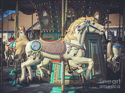 Photograph - Nostalgic Carousel by Colleen Kammerer
