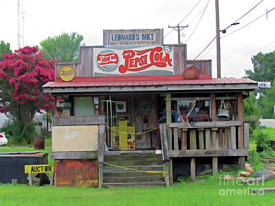 Photograph - Nostalgic Country Store by Roberta Byram