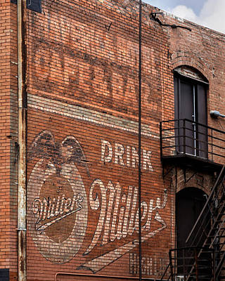 Nostalgic Sign Photograph - Nostalgic Painted Advertising by David and Carol Kelly