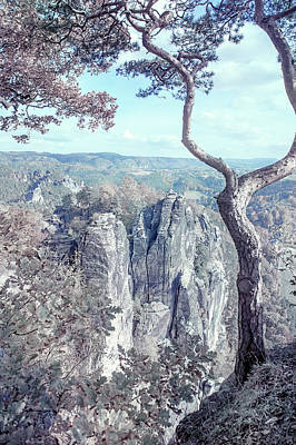 Photograph - Nostalgic Romantic. Saxon Switzerland by Jenny Rainbow