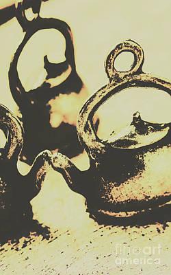 Teapot Photograph - Nostalgic Tea Break by Jorgo Photography - Wall Art Gallery