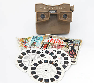 Photograph - Nostalgic Viewmaster With Reels by Patricia Hofmeester