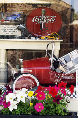 Photograph - Nostalgic Window Display by Gary Brandes