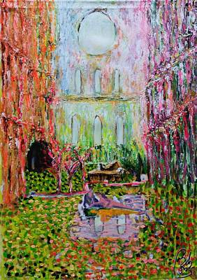 Inner World Painting - Nosthalgia by Bachmors Artist