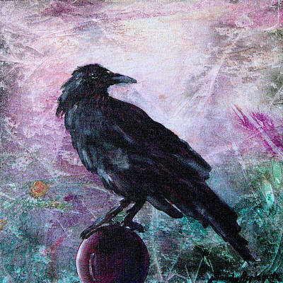 Not A Feather Then He Fluttered Art Print by Sandy Applegate
