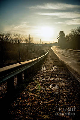 Not All Who Wander...  Original by Chellie Bock