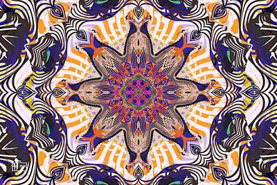 Digital Art - Not Blending In by Jim Pavelle