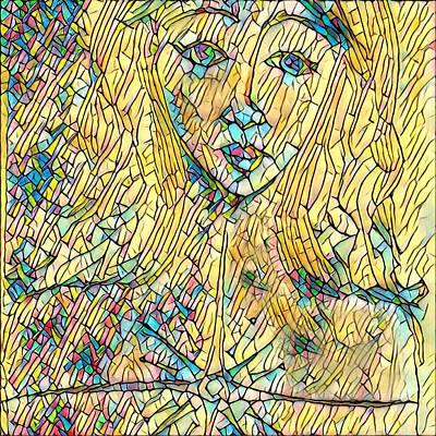 Alleyvision Digital Art - Not Broken by Heather Alley
