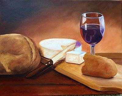 Painting - Not By Bread Alone  by Susan Dehlinger