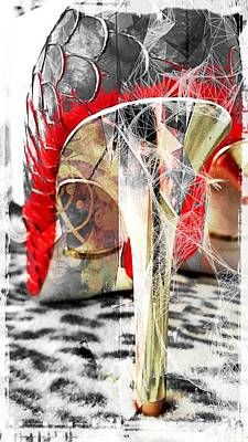 Not Cinderella's Slipper Original by ARTography by Pamela Smale Williams