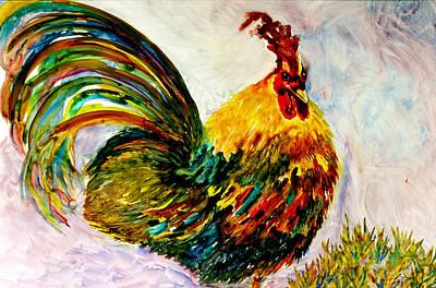 Painting - Not Here? by Kim Shuckhart Gunns
