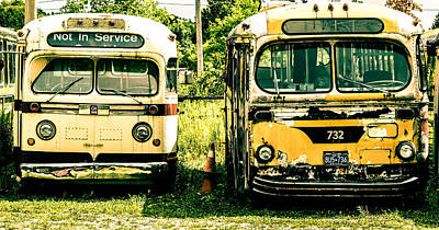 Not In Service Art Print by Karl Anderson