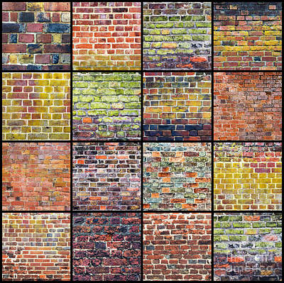 Not Just A Brick In The Wall Art Print by Tim Gainey