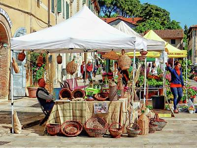 Photograph - Not Just Flowers At The Flower Market by Dorothy Berry-Lound