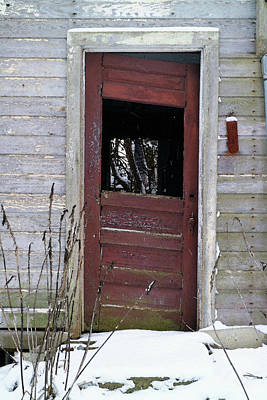 Photograph - Not Quite Right Door by Scott Kingery