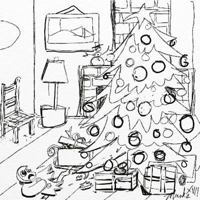Drawing - Not Right by John Stillmunks
