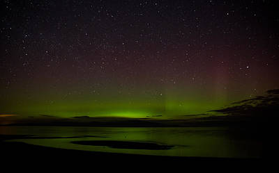 Photograph - Not So Northern Lights 2 by Randy Hall