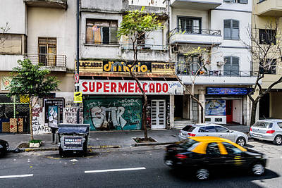 Photograph - Not So Supermercado by Randy Scherkenbach
