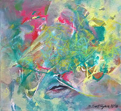 Painting - Not Spoken by Mira Satryan