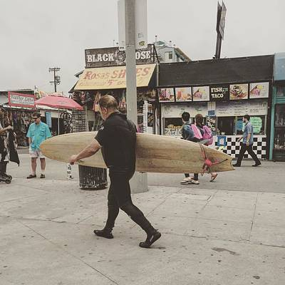 Not Surfing  Art Print