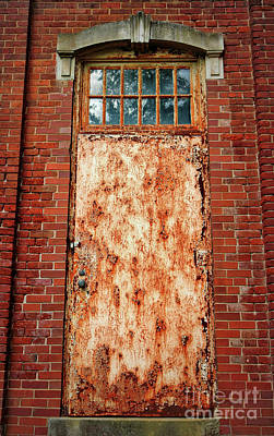 Photograph - Not The Best Door by Carol Groenen