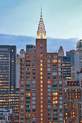 Photograph - Not The Chrysler Building Nyc by Bob Slitzan
