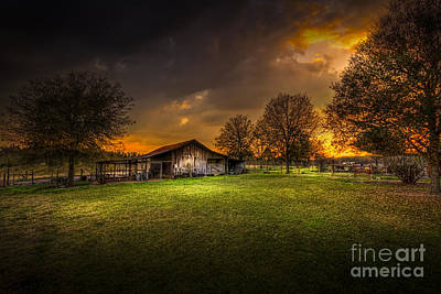 Farm Building Photograph - Not The Last Storm by Marvin Spates