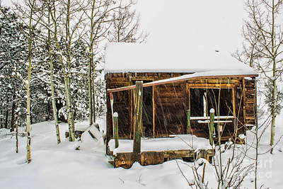 Photograph - Not The Winter Cabin by Steven Parker