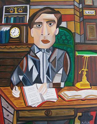Notations Of A Lawyer Original by Karen Serfinski