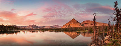 Photograph - Notch Lake Panorama by Johnny Adolphson