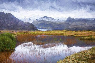 Lakes Digital Art - Nothing Matters II by Jon Glaser