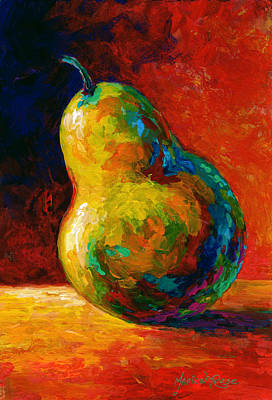 Pears Painting - Nothing Pearsonal by Marion Rose