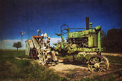 Photograph - Nothing Runs Like A Deere by Ken Smith