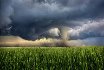 Clouds Photograph - Notill by Thomas Zimmerman