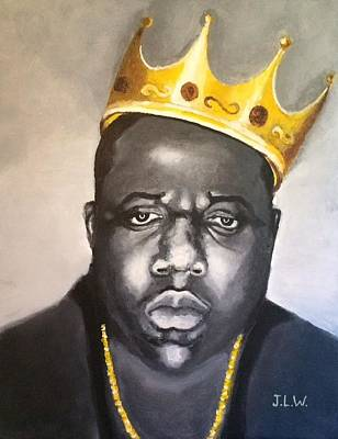 Painting - Notorious B.i.g. by Justin Lee Williams