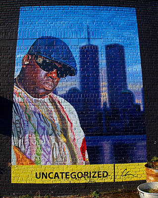 Photograph - Notorious B.i.g. by  Newwwman